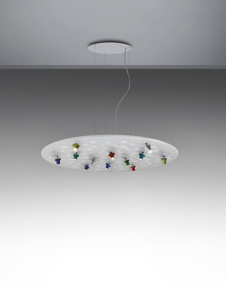 Silent Field by Artemide Architectural | Suspended lights