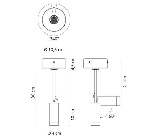 Vector Ceiling von Artemide Architectural | Deckenleuchten