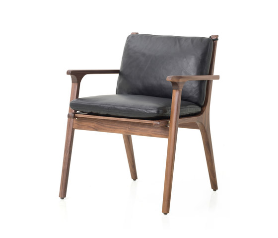 Rén Dining Armchair by Stellar Works | Chairs