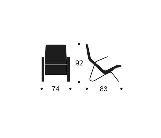 Grasshopper Lounge Chair by Tetrimäki | Armchairs