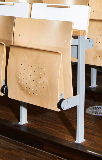 Technostep Seating Basic de Stechert Stahlrohrmöbel | Sièges d'auditorium