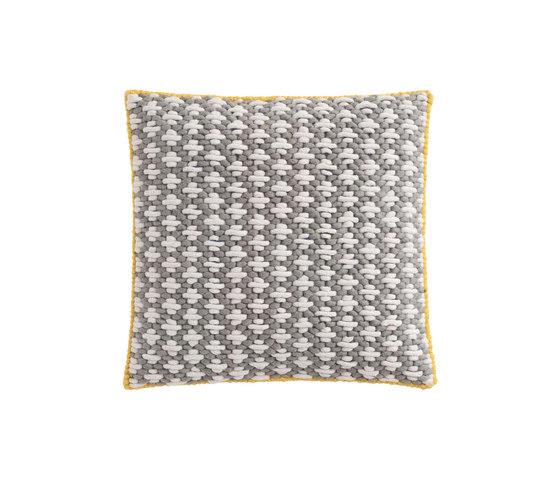 Silaï Cushion Light Grey/Blue 1 by GAN | Cushions