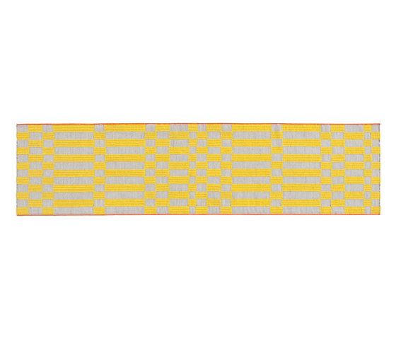 Bandas Single Rug B Yellow 13 by GAN | Rugs