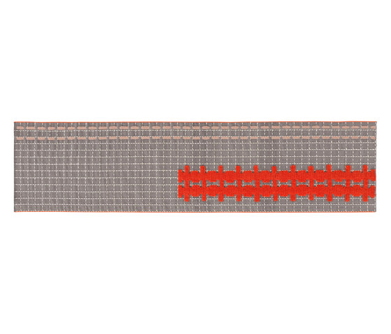 Bandas Single Rug E Grey 19 von GAN | Formatteppiche
