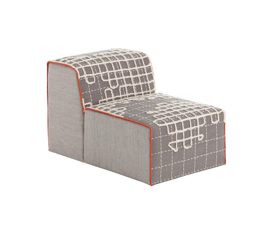 Bandas Chair A Grey 12 de GAN   Sillones