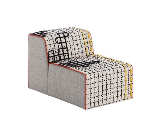 Bandas Chair D White 18 de GAN | Sillones