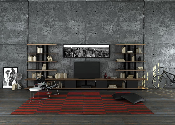 Karnaval Wall System & TV Unit de Koleksiyon Furniture | Estantería