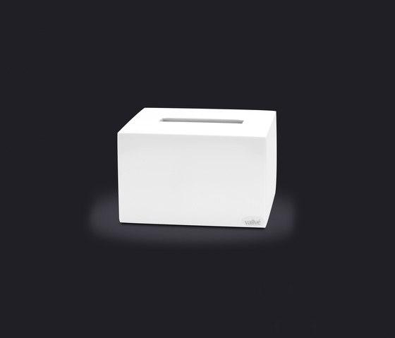 Cubo Tissue Box de Vallvé | Dispensadores de papel