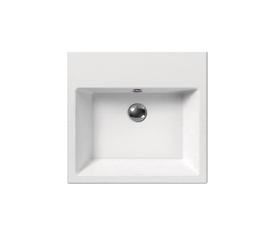 Kube 50 | Washbasin by GSI Ceramica | Wash basins
