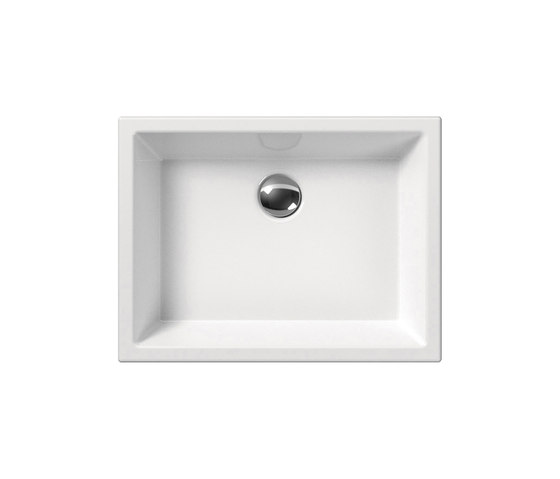 Kube 50/T | Washbasin by GSI Ceramica | Wash basins