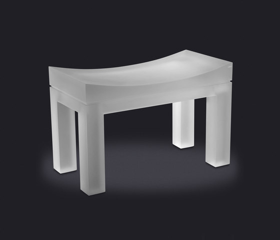 Yes Large Stool by Vallvé | Bath stools / benches