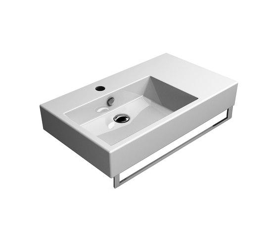 Kube 80/d | Washbasin by GSI Ceramica | Wash basins