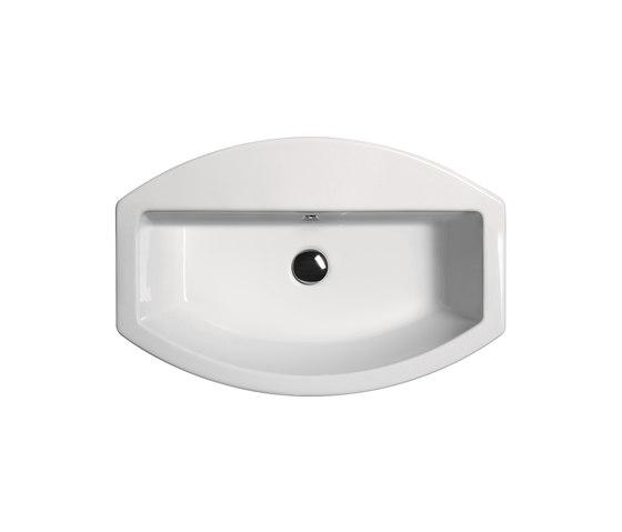 Norm h85 | Washbasin by GSI Ceramica | Wash basins