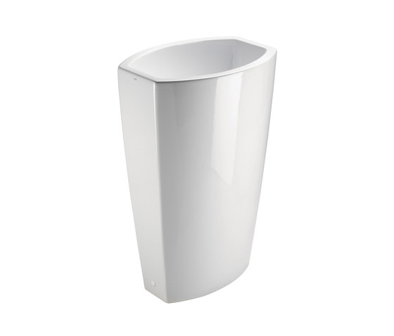 Norm h85 | Washbasin by GSI Ceramica | Wash basins