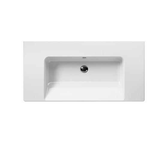 Norm 100 | Washbasin by GSI Ceramica | Wash basins
