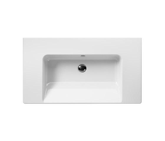 Norm 90 | Washbasin by GSI Ceramica | Wash basins