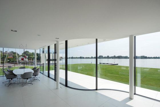 Arc sliding window by Sky-Frame | Internal doors