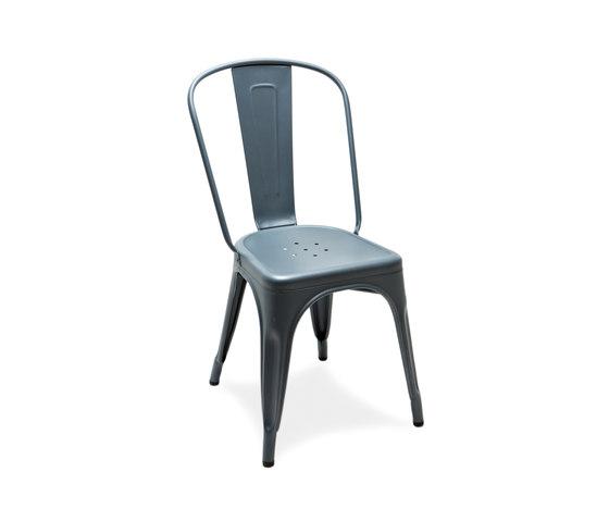 A chair azurite di Tolix | Sedie multiuso