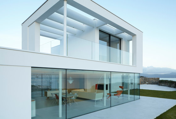 Sky-Frame 2 sliding window by Sky-Frame | Laminated glass