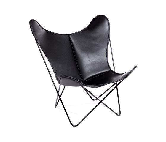 Hardoy | Butterfly Chair | Sleek Leather de Manufakturplus | Fauteuils