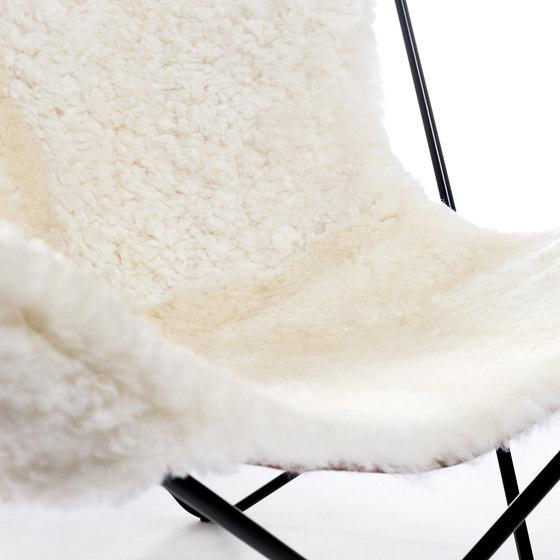 Hardoy   Butterfly Chair   Sheepskin de Manufakturplus   Fauteuils