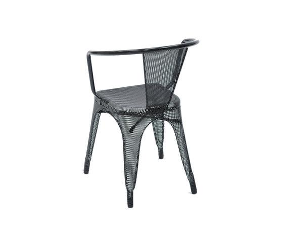 Perforated A56 armchair de Tolix   Sillas