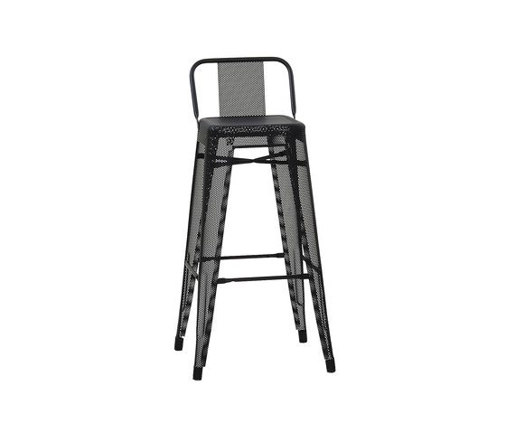 Perforated HPD75 stool by Tolix   Bar stools