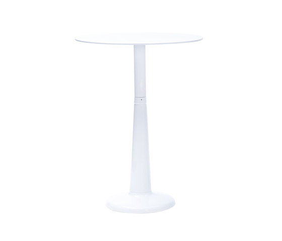 G table Ø60 H by Tolix   Standing tables