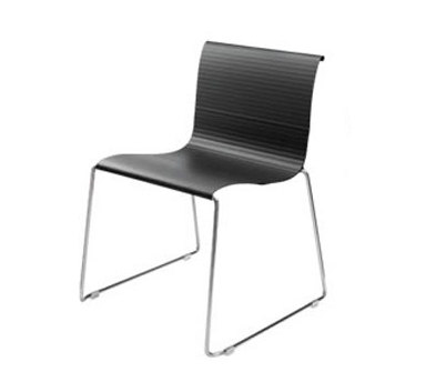 Abaco Indoor Large Stacking Side Chair de Aceray | Chaises