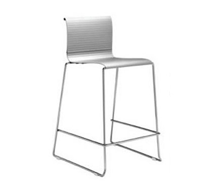 Abaco Outdoor Stacking Barstool von Aceray | Garten-Barhocker