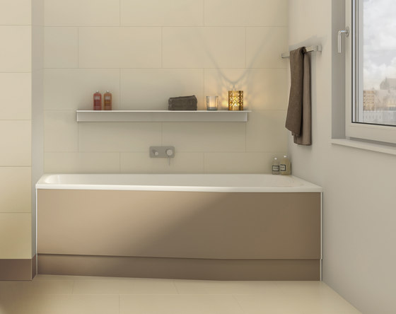 Piccolo Bella Vita - Piccolo 155/156 by Duscholux AG | Built-in bathtubs
