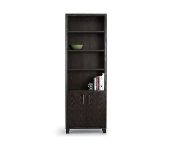 Arris Bookcase by Altura Furniture | Cabinets