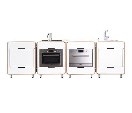 A la carte ii modulare kuche kompaktkuchen von for Modulare küche