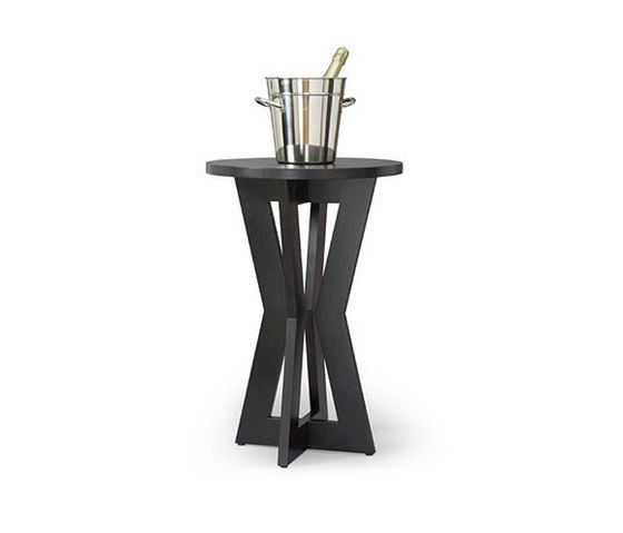 Bowtie Pedestal Table by Altura Furniture | Side tables