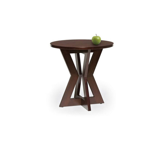 Bowtie T24 Round Side Table by Altura Furniture | Side tables