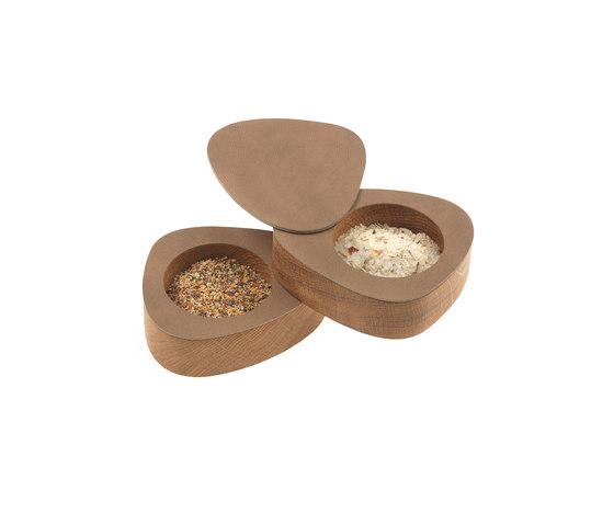 Curve Salt&Pepper by LINDDNA | Salt & pepper shakers