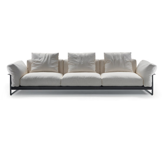 zeno light lounge sofas from flexform architonic. Black Bedroom Furniture Sets. Home Design Ideas