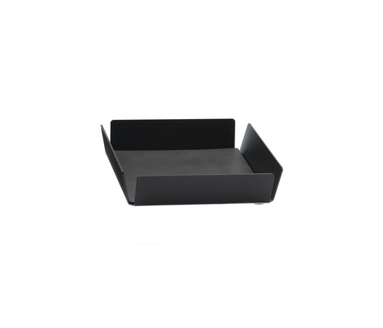Tray Square Mini | anthracite by LINDDNA | Trays