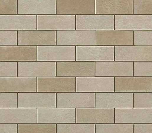 Ewall Suede Mini Brick di AKDO | Mosaici ceramica