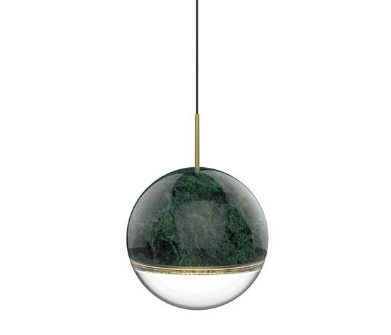 Wandering Star Indian Green Marble de VISO | Suspensions