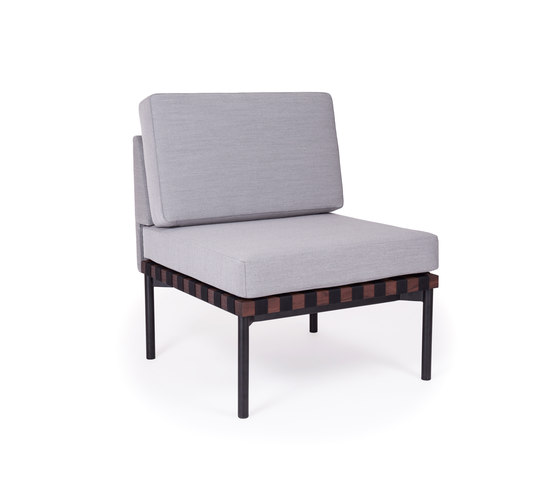 Grid | armchair without armrest by Petite Friture | Armchairs