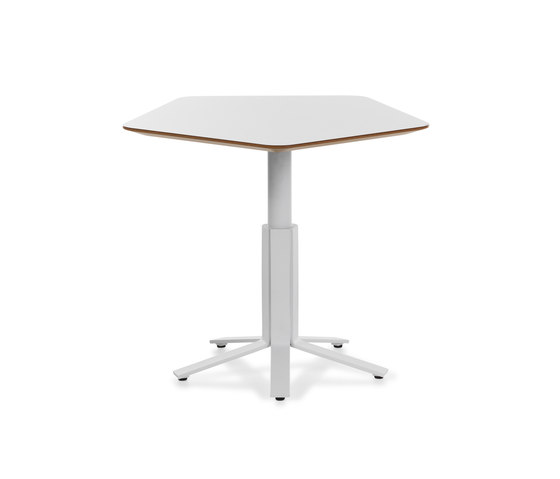 Aline Table by Johanson | Cafeteria tables