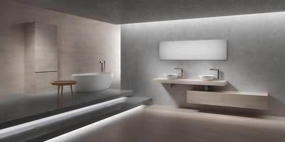 5 mm – the bathroom project | Composizione #10 by Itlas | Wood panels