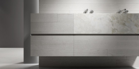 5 mm – the bathroom project | Composizione #15 by Itlas | Wood panels