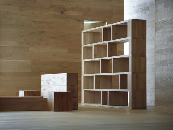 I Massivi | AA014 Bookshelf by Itlas | Shelving