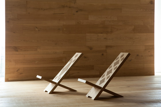 I Massivi | DMF/007 Long chair by Itlas | Bath stools / benches