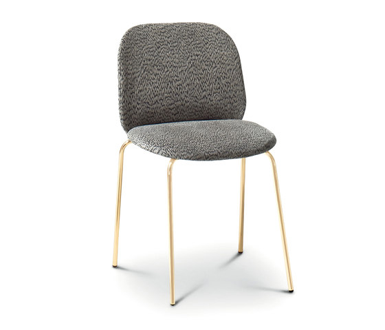 Corolle Padded Chair by ARFLEX | Restaurant chairs