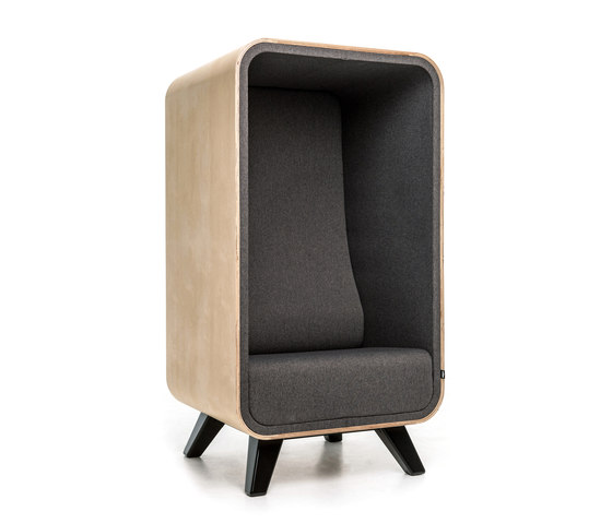 The Box Lounger von Loook Industries | Sessel
