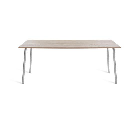 "Run Table 72"" di emeco | Tavoli pranzo"