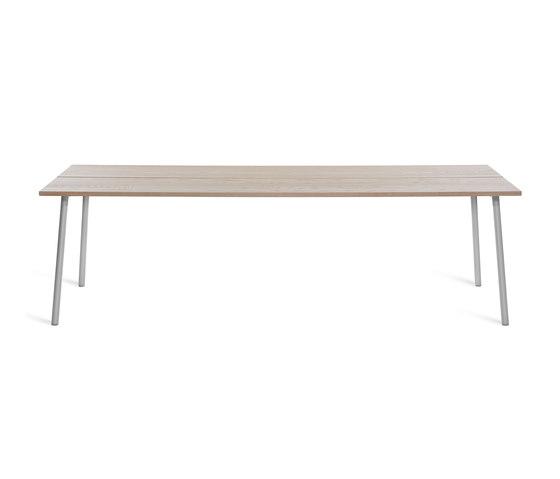 "Run Table 96"" by emeco | Restaurant tables"